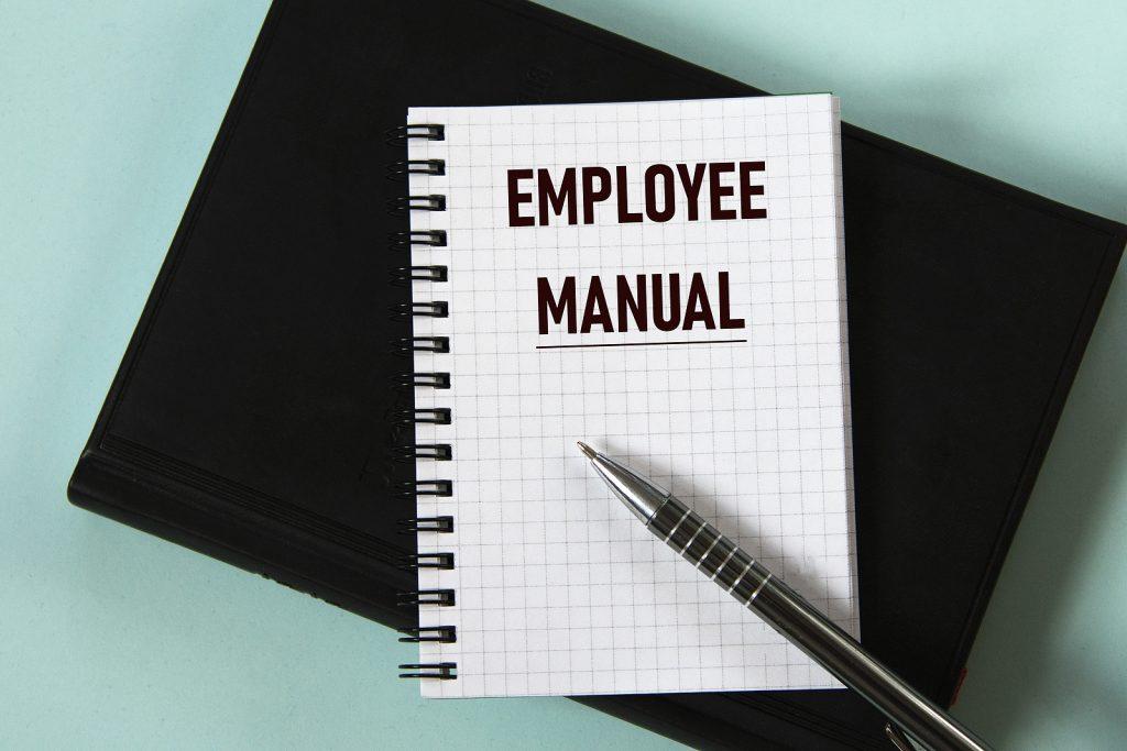 bigstock Employee Manual Words In A W 436378997