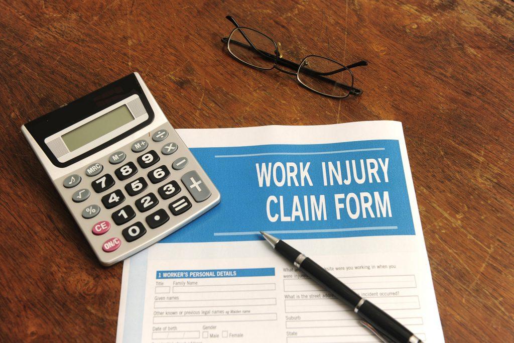bigstock Insurance Blank Work Injury C 7429265